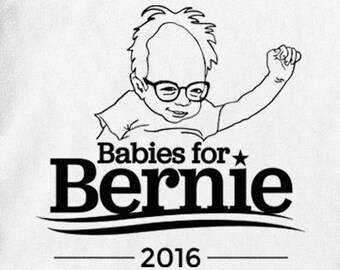 Babies for Bernie 2016 - Baby one-piece bodysuit