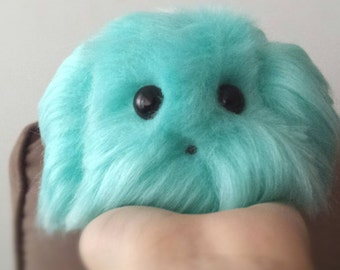 Bird Blue Stuffed Animal Soft Toy Handmade Plush