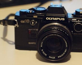 Olympus OM-10 with 50mm f1.8 Zuiko Lens
