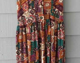Vintage Orange You Glad Dress
