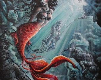 Siren seduction on sirens symbol greek mythology