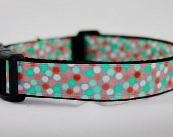 Pretty in Polka Dots Dog Collar