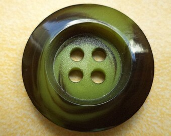 10 buttons 21mm Green (6122) button