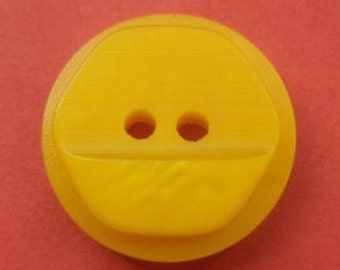10 buttons 15mm yellow (4685) button