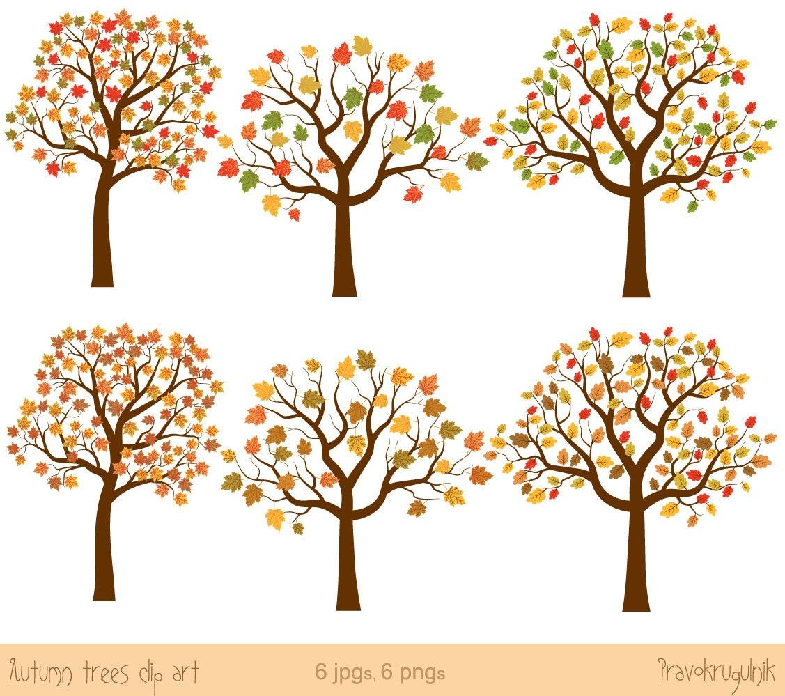 autumn tree clipart - photo #46