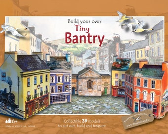 Build your own tiny Bantry - an innovative Irish paper model kit