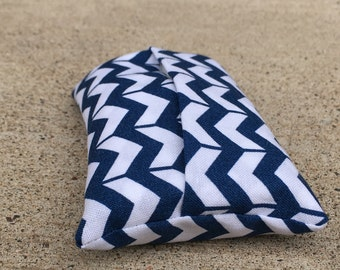 Travel Tissue Case 'Chevron Chic' / Pocket Tissue Cozy / Reusable Kleenex Holder