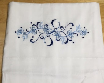 Shades of Blue Pillow Case