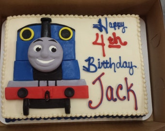 Thomas the Train Cake Topper