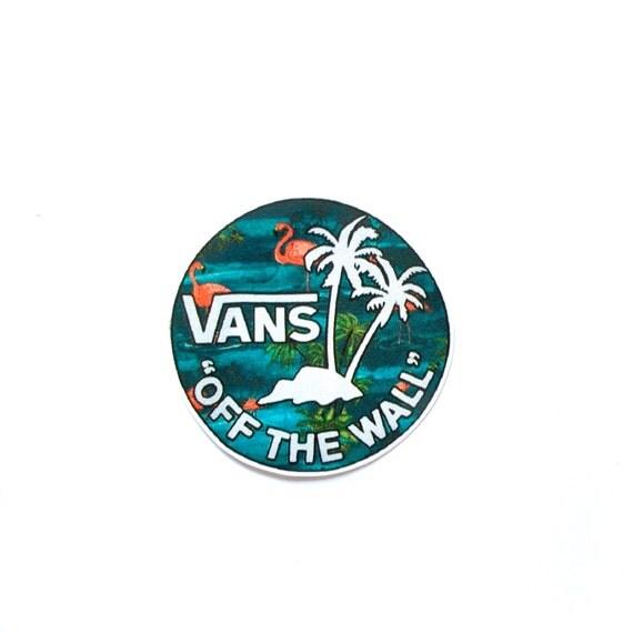 Vans Off The Wall Decal Vinyl Sticker Ipad Sticker By