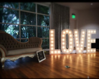 Marquee//  letters with lights//Marquee sign// Marque number// Marquee lighted sign// Sweet sixteen