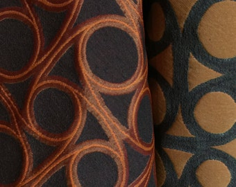MAHARAM Reel Redwood Upholstery Fabric - By The Yard