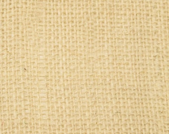 """8oz Oyster Burlap by the Yard - 46"""" Wide, 100% Jute"""