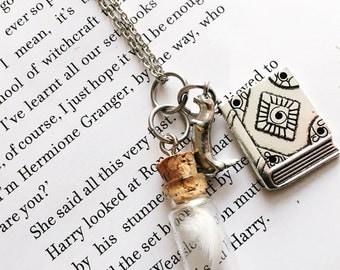 Hermione Granger | Harry Potter Inspired Literary Pendant
