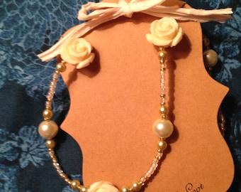 Bridal Bouquet Necklace