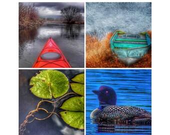 Adirondack Mountains Photography: Lakelife Poster by Adk_Zen