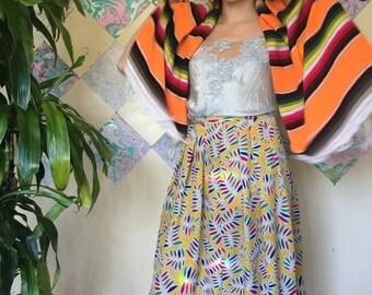 100% Silk Maxi Skirt Vintage