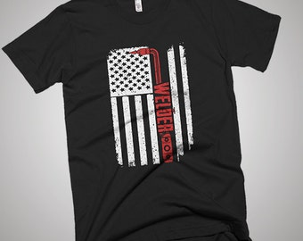 Welder USA American Flag T-Shirt