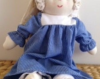 Handmade Rag Doll (small)