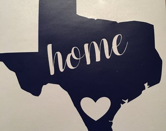 """State """"Home"""" decal"""