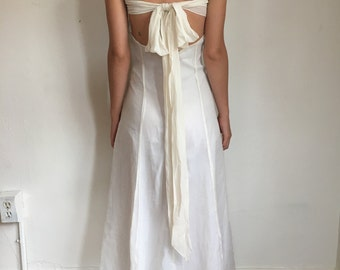 Handmade Silk Chiffon Wedding Dress