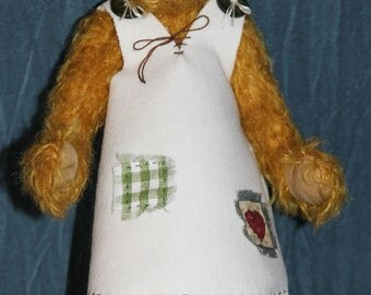 Katie - handmade teddy bear