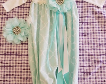 Items Similar To Custom Infant Gown Take Home Going Home
