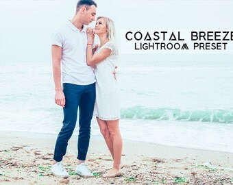 Coastal Breeze Cool Lightroom Preset Professional Photo Editing for Portraits, Newborns, Weddings By LouMarksPhoto