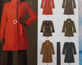 New Look 6006 Coat Sewing Pattern 8-18