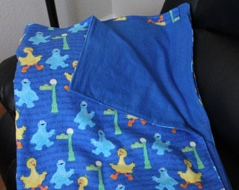 Sesame Street Fleece blanket