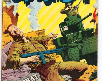 G.I. Combat #129 (1968) FN/VF 7.0  The Haunted Tank!