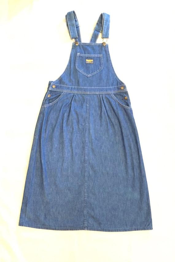 Fantastic Long Jumper Dress  Womens Loose Tent Dress  Denim 90s