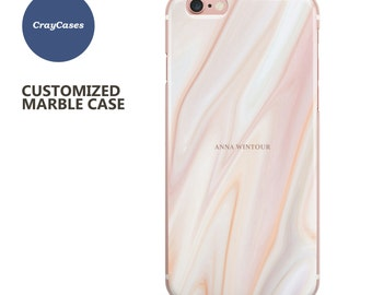 marble iPhone Case, personalised marble iPhone 7 case, 6 Plus, 6, 6s Plus, iPhone 6s case, cell phone cover (Shipped From UK)