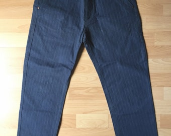 Louis Vuitton Jeans stripes in Blue by Marc Jacobs