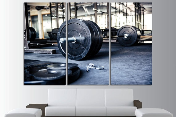 Gym decor wall art home