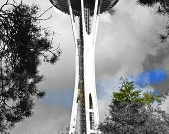 seattle space needle trees