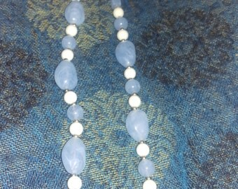 Icy Blue Snow necklace