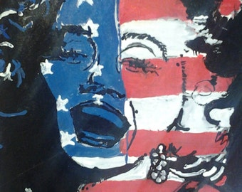 American Marilyn Monroe (pop art)