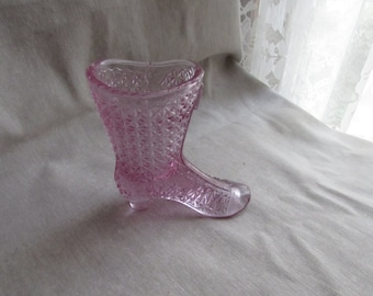 Fenton Daisy and Button Tall Boot in Pink