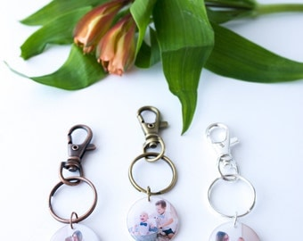 Resin Photo Jewelry, Resin Photo pendants, Resin Charms, Resin Key chain, Photo Key chain