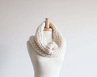 Chunky Cowl Scarf Hood Warmer | THE CHIMBLEY in Fisherman