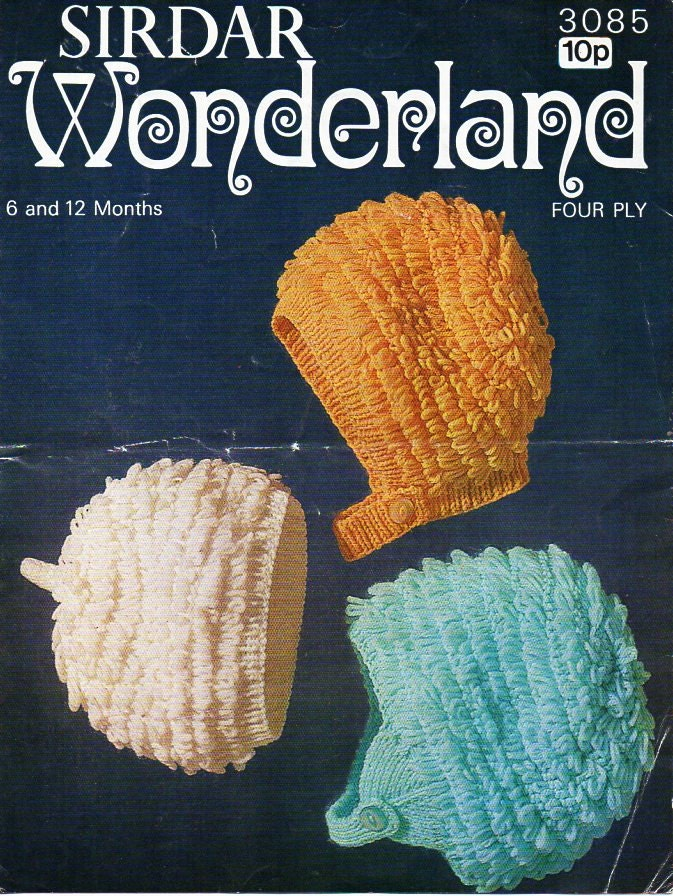 Loopy Knitting Pattern : baby loopy hats knitting pattern pdf 4ply loop stitch hats