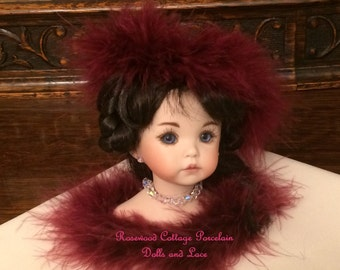 Victorian Doll Christmas Ornament