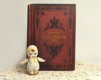 Antique Children's Book, 1877 Moody's Child Stories, Illustrated, Edited by Rev J B McClure