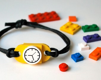 Play Day Lego Bracelet in Yellow: Build Your Own LEGO Jewelry