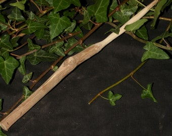 Rare Grape Vine Wand for Dionysos - Greek God of Wine and Ecstacy - Pagan, Wicca, Witchcraft, Ritual, Magic, Spells - Pyrography