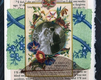 Wedding Collage Card Husband and Wife Anniversary