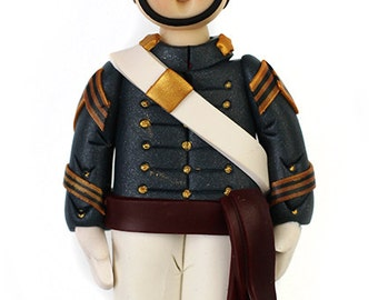 Citadel Cadet or West Point Firstie Ornament
