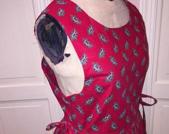 Vintage Vera Bradley Paisley Dress