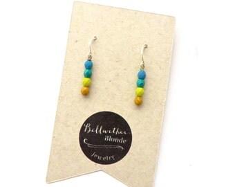 Small Earrings // Everyday Earrings  // Beaded Earrings // Classic Earrings // Gifts Under 15 // Gifts for Women // Gifts for Teen Girls